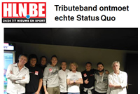 HLN 28 november 2015 Belgian Quo Band meets Status Quo
