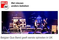 Belg.be Belgian Quo Band naar Engeland