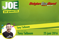 JoeFM Tony Talboom 25 juni 2016