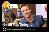 Radio 2 nationaal bij David Van Ooteghem de Spits
