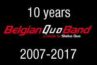 Belgian Quo band 10 Years