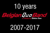 Belgian Quo band 10 Years