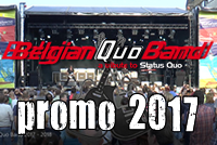 Belgian Quo Band promo 2017