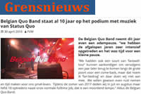 Grensnieuws 30 april 2018